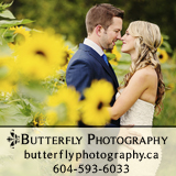 Butterfly Photography - Vancouver Wedding Photography