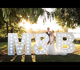 BULetters - Vancouver Wedding Decor / Rentals